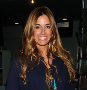 Kelly Bensimon attended the 'Dirty Girl' screening looking ultra casual with her long tresses softly tousled. She was also fresh-faced with glowing skin and  minimal makeup.