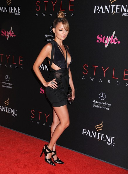 More Pics of Nicole Richie Braided Bun (5 of 5) - Updos Lookbook - StyleBistro