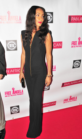 Celebs at the 'Free Angela' Premiere