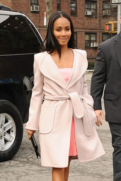 Jada Pinkett Smith Wool Coat