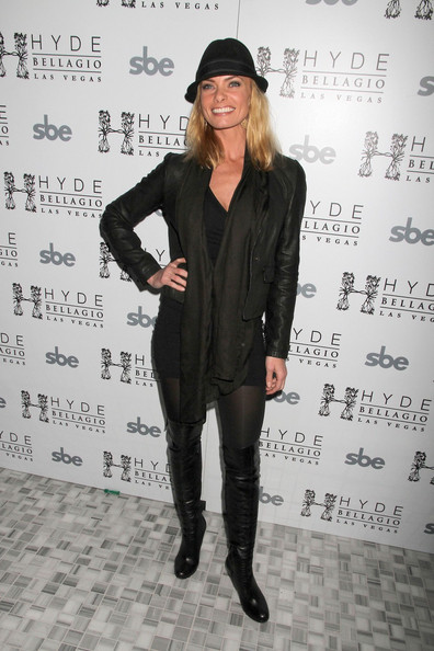 Jaime Pressly Over the Knee Boots