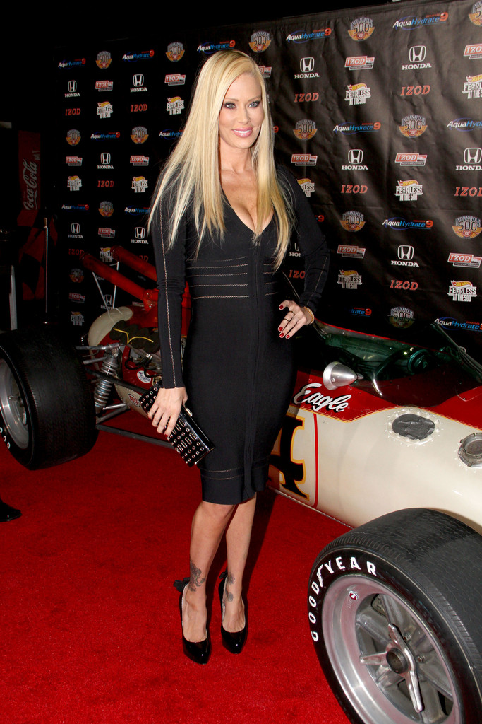 Jenna Jameson Platform Pumps Jenna Jameson Looks
