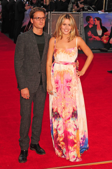 Caggie Dunlop at the Premiere of 'Titanic 3D' in London