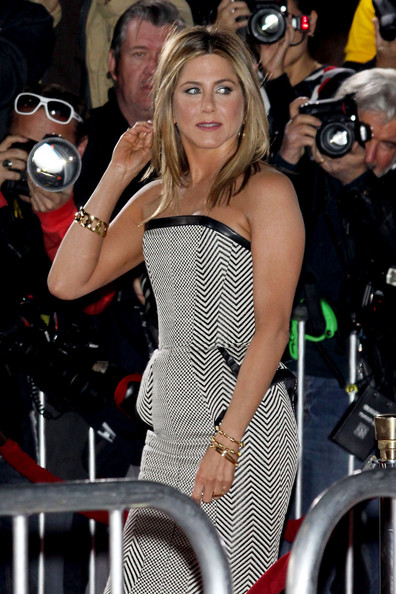 Jennifer Aniston Gold Bracelet