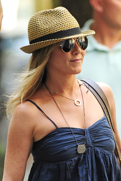 Jennifer Aniston Fedora