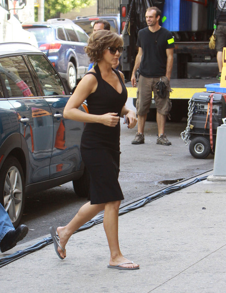 Jennifer Aniston Flip Flops