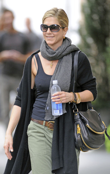 Jennifer Aniston Solid Scarf []