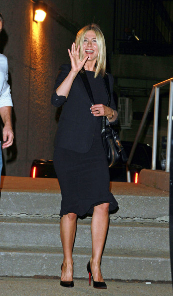 Jennifer Aniston Skirt Suit