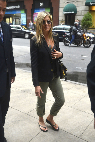 More Pics of Jennifer Aniston Blazer (2 of 7) - Jennifer Aniston Lookbook - StyleBistro