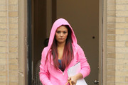 Jennifer 'JWoww' Farley and a reportedly pregnant Nicole 'Snooki' Polizzi are seen leaving their Jersey City residence ahead of another day of filming their upcoming reality show