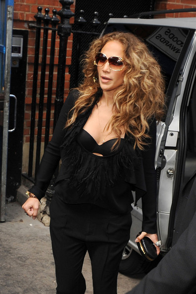 Jennifer Lopez Frame Clutch