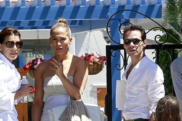 Jennifer Lopez Marc Anthony Jennifer Lopez and Marc Anthony Meet in LA — Part 2