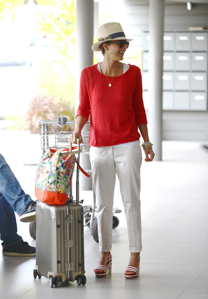 More Pics of Jessica Alba Slacks (3 of 24) - Jessica Alba Lookbook - StyleBistro