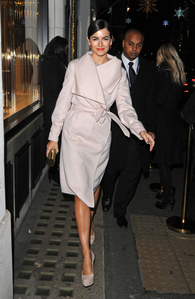 More Pics of Camilla Belle Wool Coat (1 of 2) - Camilla Belle Lookbook - StyleBistro