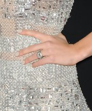 Jessica's digits dazzled at the 'Hitchcock' premiere thanks to her super-chic textured caviar mani.