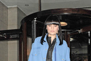 Jessie J Leather Pants