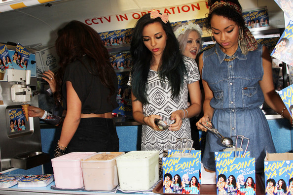 More Pics of Leigh-Anne Pinnock Denim Dress (1 of 4) - Denim Dress Lookbook - StyleBistro