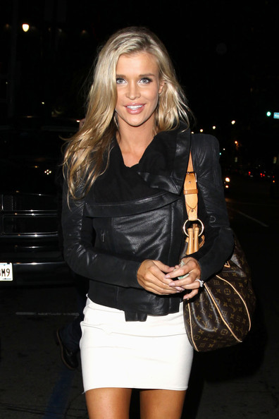 Joanna Krupa Printed Shoulder Bag
