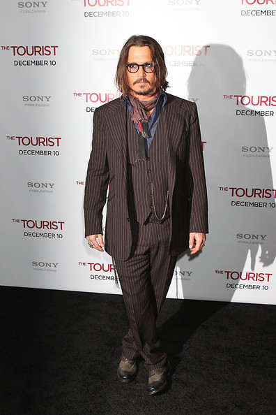 Johnny Depp Men's Suit []