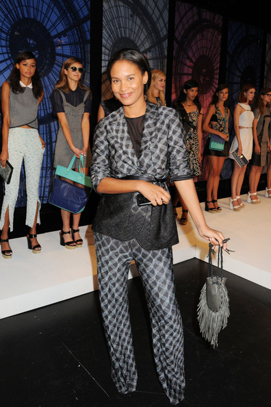 Joy Bryant Leather Purse