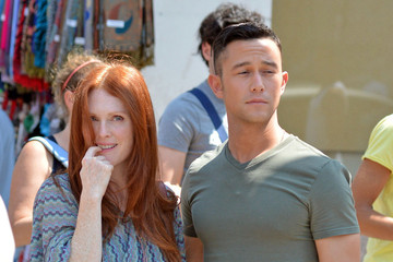 Julianne Moore Joseph Gordon-Levitt Julianne Moore and Joseph Gorden- Levitt Film 'Don Jon's Addiction'