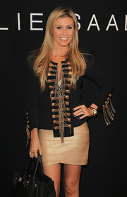 Claudine Keane's fabulously embellished military jacket was perfection.