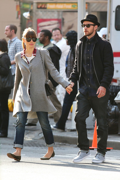 Justin Timberlake and Jessica Biel Out in NYC