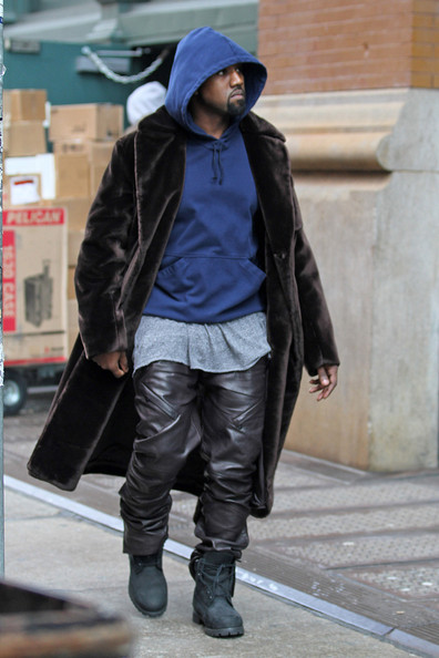 More Pics of Kanye West Combat Boots (1 of 6) - Kanye West Lookbook - StyleBistro