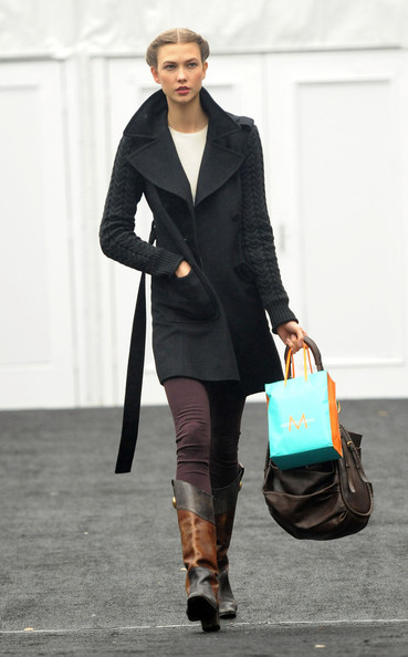 Karlie Kloss Wool Coat