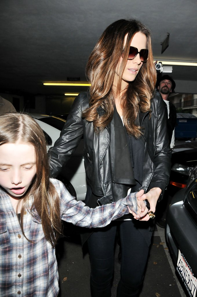 Kate Beckinsale Without Hair Extensions Kate Beckinsale Long C...