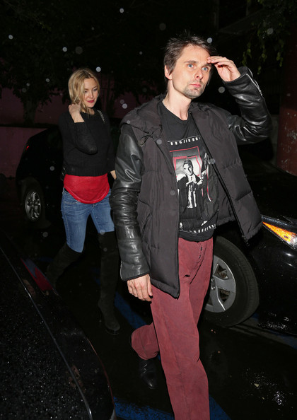 Kate Hudson and Matt Bellamy at Pink Taco