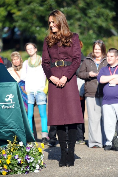 Kate Middleton Knee High Boots