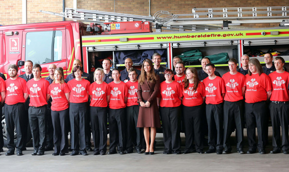 Kate Middleton Continues Her Tour of Grimsby