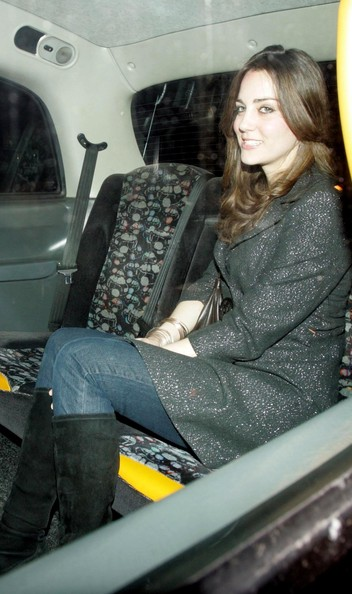 More Pics of Kate Middleton Knee High Boots (1 of 52) - Kate Middleton Lookbook - StyleBistro