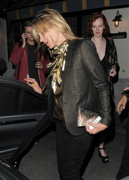 More Pics of Kate Moss Blazer (1 of 29) - Kate Moss Lookbook - StyleBistro