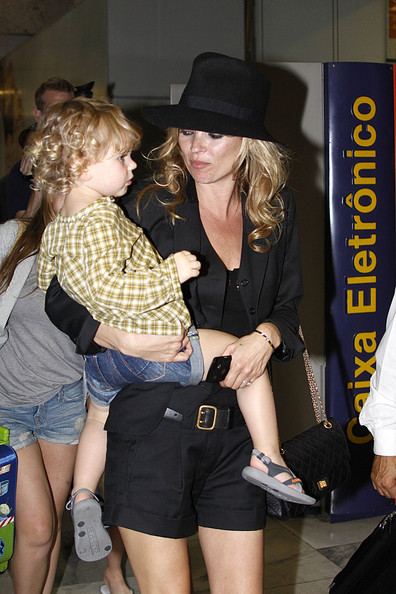 Kate Moss' Baby Curls