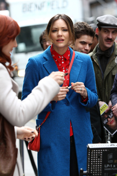 More Pics of Katharine McPhee Wool Coat (5 of 9) - Wool Coat Lookbook - StyleBistro