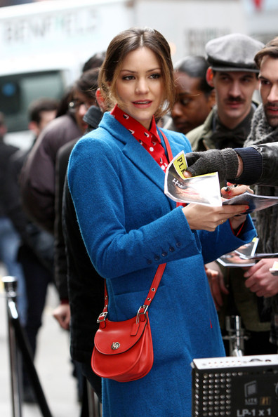 More Pics of Katharine McPhee Wool Coat (3 of 9) - Wool Coat Lookbook - StyleBistro