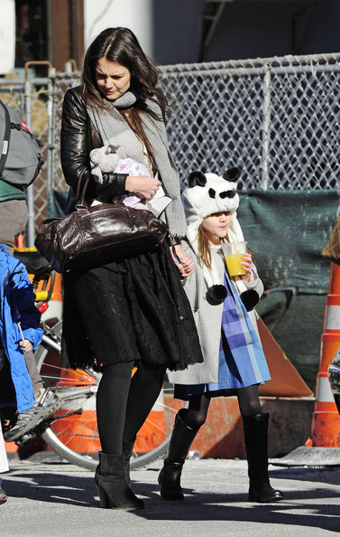 Katie Holmes and Suri Out and About