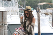 Katie Holmes Is Nautical and Nice in Balenciaga