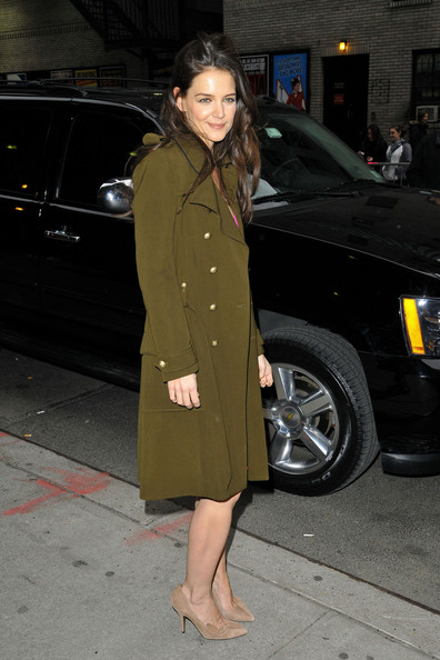 More Pics of Katie Holmes Wool Coat (2 of 14) - Katie Holmes Lookbook - StyleBistro