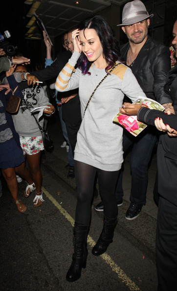 Katy Perry Combat Boots []