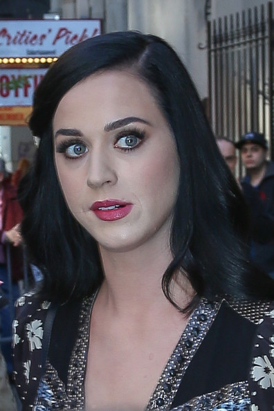 Katy Perry Long Side Part []
