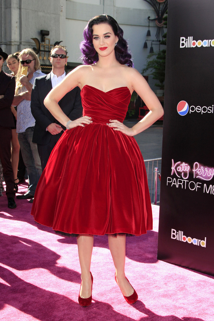 Katy Perry attends the premiere of her new film 'Katy Perry: Part Of Me', held in Los Angeles.