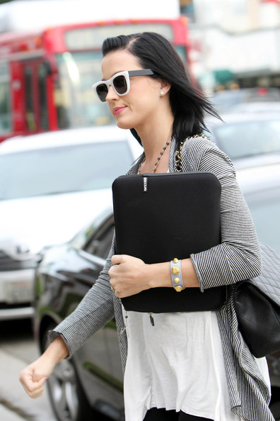 More Pics of Katy Perry Neon Sunglasses (1 of 4) - Katy Perry Lookbook - StyleBistro