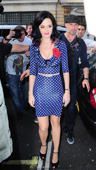 More Pics of Katy Perry Cocktail Dress (3 of 12) - Dresses & Skirts Lookbook - StyleBistro []