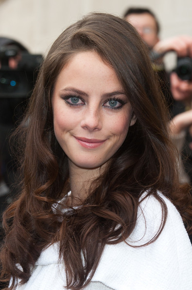 Kaya Scodelario attending the Chanel ReadyToWear Fall Winter 2012