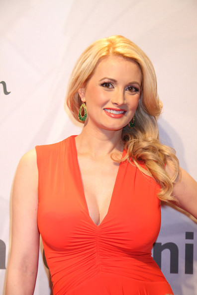 More Pics of Holly Madison Evening Dress (1 of 4) - Holly Madison Lookbook - StyleBistro