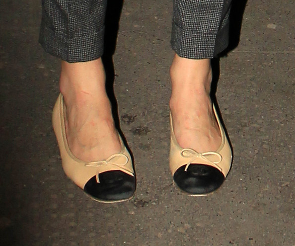 More Pics of Keira Knightley Ballet Flats (1 of 6) - Keira Knightley Lookbook - StyleBistro