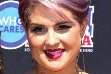 Kelly Osbourne Amps Up her Look With a Retro Beehive